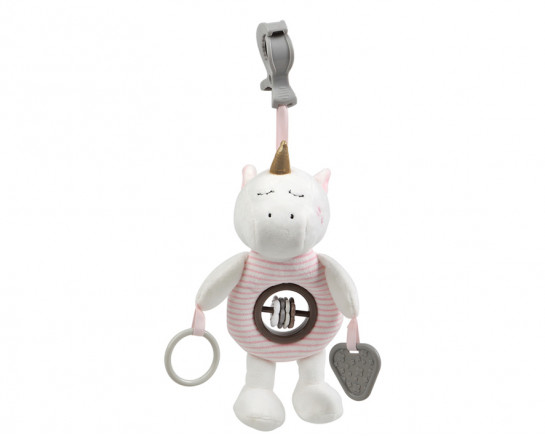 DECORATIBE PLUSH TOY OF FOX FOR STROLLER AND CRIB