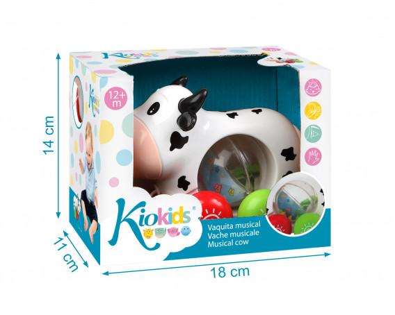 Xylophone toy to pull 2 in 1