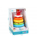 Roly-poly penguin toy in bleu