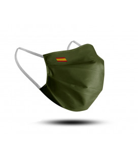 REUSABLE FACE MASK ADULT + 12 YEARS WHITE