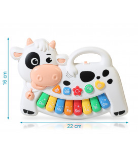 BLUE MUSICAL SOFT TOY