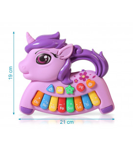 PELUCHE MUSICAL GRISE
