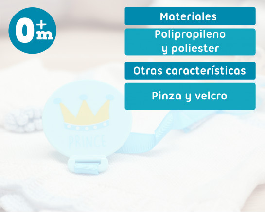 Pacifier pink Princess 2U