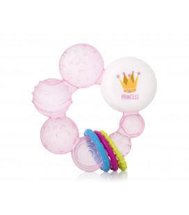 Cold teether with clip for prince
