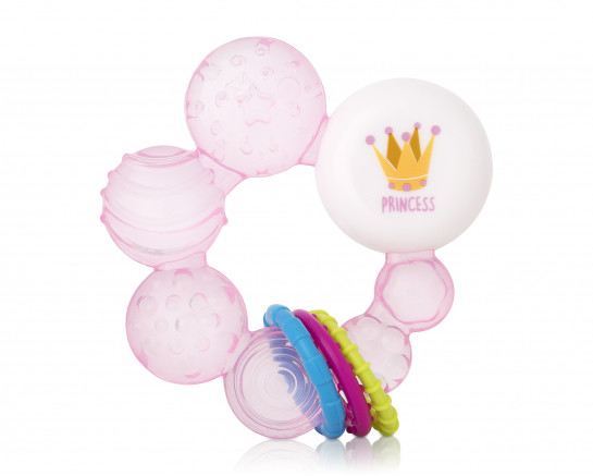 Teether white/blue 2-pack