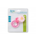 Silicon baby bottle cleaner blue