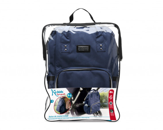 BRAIDED COT AND BED BUMPER BLUE 1,5M