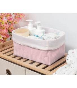 SUPPORT BUMP AND NON-SLIP BASE BABY BATHTUB ROSE