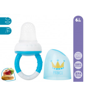 Cooler teether pink with rings Princess