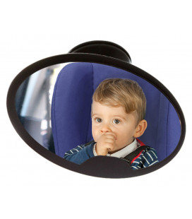 FRONT SEAT SAFETY MIRROR HIGH VISIBILITY