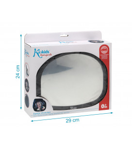 Cervical ergonomic pillow for baby blue rabbit