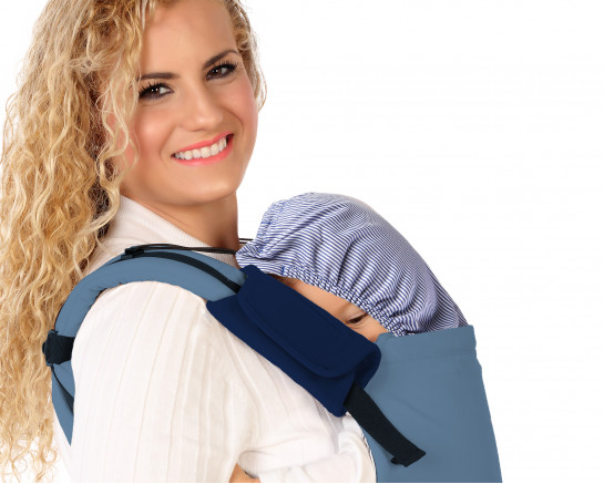 BABY WRAP CARRIER STRETCH PINK